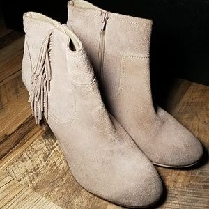 Shoes Abound Booties Leather Suede Sz 13M